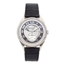 Chopard White gold Automatic Silver Arabic numerals 39mm pre-owned L.U.C