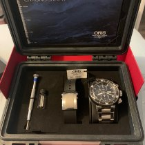 Oris ProDiver Chronograph Titán 51mm Fekete