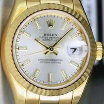 Rolex Silver 26mm pre-owned Lady-Datejust