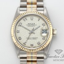 Rolex Datejust Yellow gold 31mm Champagne Arabic numerals