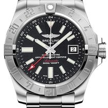 Breitling Avenger II GMT Steel 43mm Black United States of America, New York, New York