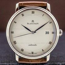 Blancpain Villeret Ultra-Slim White gold 38mm White Roman numerals