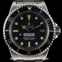 Rolex Vintage Steel Very Rare O/P Comex Sea-Dweller 1665
