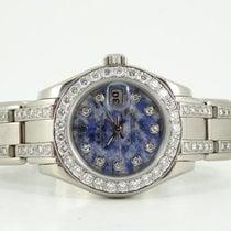 Rolex Unique Pearlmaster sodalite dial full diamonds