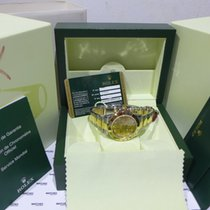 "Rolex Daytona Cosmograph Champagne Diamond Dial ""Oman Logo..."