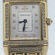 Jaeger-LeCoultre Ladies Reverso Duetto 18k Yellow Gold And...