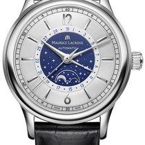 Maurice Lacroix Les Classiques neu 2021 Automatik Uhr mit Original-Box und Original-Papieren LC6168-SS001-122-1
