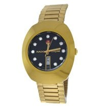 Rado Men's Diastar 636.0313.3 Gold Plated Day Date Automatic