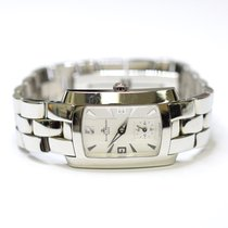 Baume & Mercier Hampton Geneve 22x28mm Stainless Steel Ladies...