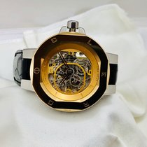 Clerc Gold/Steel Automatic I8SKC13 new