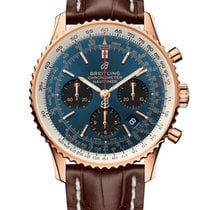 Breitling RB0121211C1P2 Red gold 2019 Navitimer 1 B01 Chronograph 43 43mm new