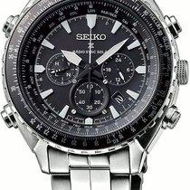 Seiko Prospex SSG001P1 Radio Sync Solar World Time Chronograph