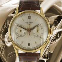 Longines Red gold Manual winding Silver Arabic numerals 38mm pre-owned