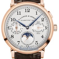 A. Lange & Söhne Rose gold 40mm Manual winding 1815 new United States of America, New York, Airmont