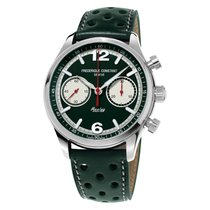 Frederique Constant Vintage Rally Staal 42mm Groen Nederland, Culemborg