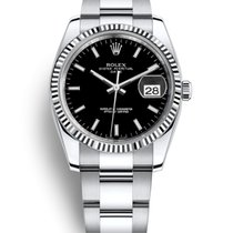 Rolex Oyster Perpetual Datejust 34 mm Stainless Steel & 18K...