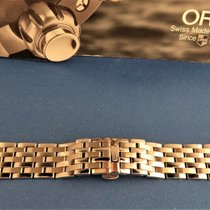 Oris Parts/Accessories Men's watch/Unisex 253852826944 new Steel Silver Artelier