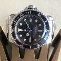 Rolex 40mm Remontage automatique 1978 occasion Sea-Dweller (Submodel) Noir