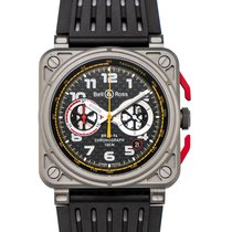 Bell & Ross Automatic Black 42mm new BR 03-94 Chronographe