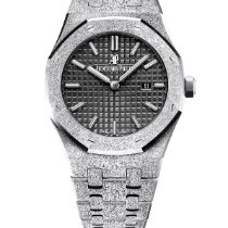 Audemars Piguet Royal Oak Lady Oro blanco 33mm Negro