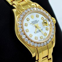 Rolex 69298 Oro amarillo Lady-Datejust Pearlmaster 29mm usados