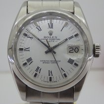 Rolex Oyster Perpetual Date Acero 34mm Plata Romanos España, Valencia