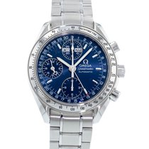 Omega Speedmaster Day Date pre-owned 39mm Blue Steel