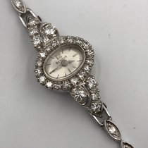 Benrus pre-owned Manual winding 13mm Silver Sapphire Glass