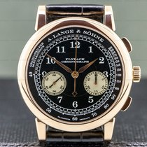 A. Lange & Söhne 1815 Rose gold 39mm Arabic numerals United States of America, Massachusetts, Boston