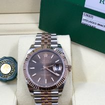 Rolex Datejust II Gold/Steel 41mm Brown No numerals United States of America, Pennsylvania, Philadelphia