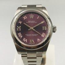Rolex Oyster Perpetual 31 Stal 31mm Fioletowy Rzymskie Polska, Czestochowa