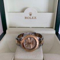 Rolex Yacht-Master Stål 29mm Guld Inga siffror