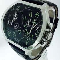DeLaCour Steel 53mmmm Quartz DeLaCour - Bichrono Double Time Zone -Ltd Ed -069/999 pre-owned United States of America, California, Beverly Hills