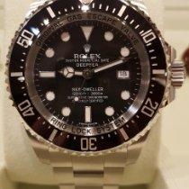 Rolex Sea-Dweller Deepsea Acier 44mm Noir Sans chiffres France, CANNES