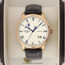 Glashütte Original Senator Panorama Date Moon Phase Or rose 40mm Argent