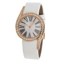 Piaget Rose gold Quartz Silver Roman numerals 32mm pre-owned Limelight