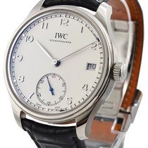 IWC Portuguese Hand-Wound 43mm Silver United States of America, California, Beverly Hills
