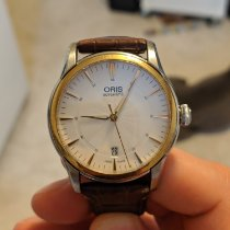 Oris Artelier Date Gold/Steel 40mm Silver United States of America, Wisconsin, Madison