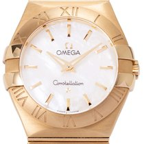 Omega Constellation Quartz Yellow gold 27mm