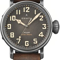 Zenith Pilot Type 20 Extra Special Steel 45mm Grey Arabic numerals United States of America, Florida, Sunny Isles Beach