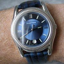 Louis Erard Excellence Acero y oro 36mm Azul Romanos