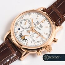 Patek Philippe Perpetual Calendar Chronograph Oro rosa 40mm Argento Italia, Roma