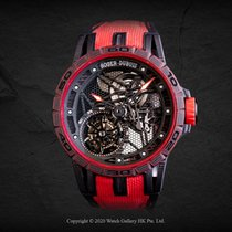 Roger Dubuis Carbon Manual winding Roger Dubuis spider skeleton rddbex0572 new Singapore, Singapore