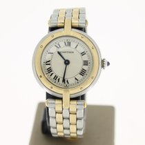 Cartier Panthere  Round Steel/Gold Two Tone (BOX1990) MINT 24mm