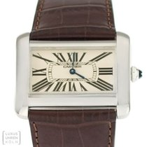 Cartier Tank Divan Steel 38mm Silver