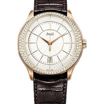 Piaget G0A39114 Gouverneur in Rose Gold with Diamond Bezel -...