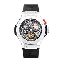 Hublot 308.TX.130.RX Bigger Bang Tourbillon in Platinum - on...