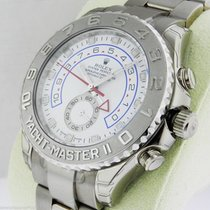Rolex Yacht-Master II 116689 White Gold 44mm Box and Papers