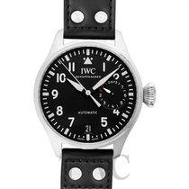 IWC Big Pilot's Watch Black Steel/Leather 46mm - IW500912