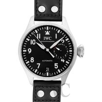 IWC Big Pilot's Watch Black Steel/Leather 46mm - IW500912